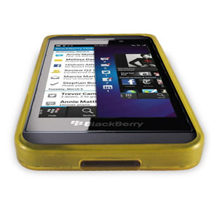 FlexiShield Case for Blackberry Z10 - Yellow