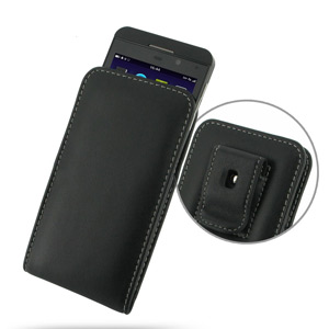 PDair Leather Vertical Case - BlackBerry Z10