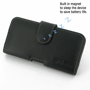 PDair Horizontal Leather Pouch Case - Blackberry Z10