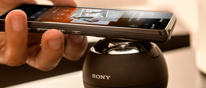 Sony Wireless Bluetooth NFC Speaker Phone SRS-BTV5 - White