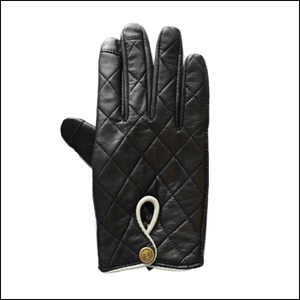 Uunique Women's Leather Touchscreen Gloves - Medium
