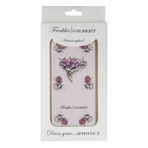 Freckles and Gilbert iPhone 5 Case - Hummingbird