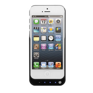 Power Jacket Case 4200mAh for iPhone 5 - White