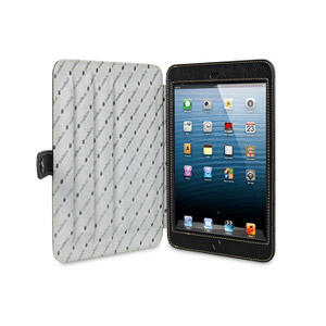 Melkco Premium Leather Case for iPad Mini with Stand - Black
