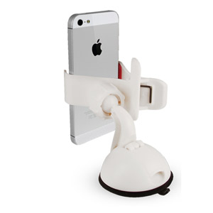 The Claw Universal Case Compatible Car Mount - White