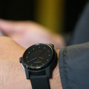 COOKOO Smartphone Analog Watch - Black/Blue