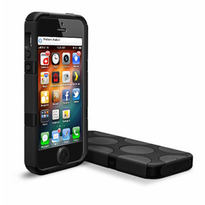 SwitchEasy FreeRunner Hybrid Case for iPhone 5 - Black