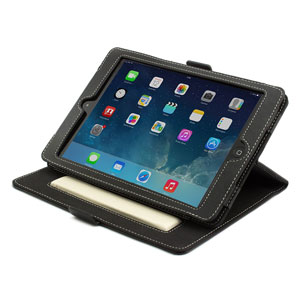 Proporta Leather Style Folio Case for iPad Mini - Black