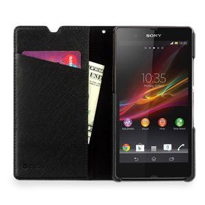 Zenus Prestige Minimal Diary for Sony Xperia Z - Black