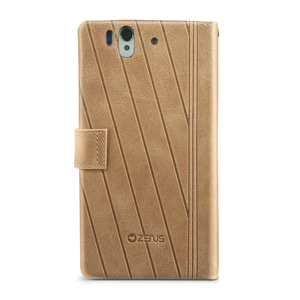 Zenus Prestige Neo Vintage Diary for Sony Xperia Z - Brown