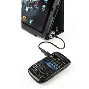 Veho Pebble Folio 6600mAh Battery Charger - Black