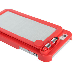 iPhone 5 Sketch Board Back Case - red