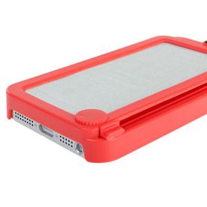 Funda iPhone 5 con pizarra trasera - Roja