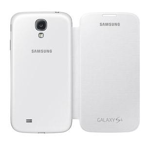 innovative design 5605d d1414 Official Samsung Galaxy S4 Flip Case Cover - White