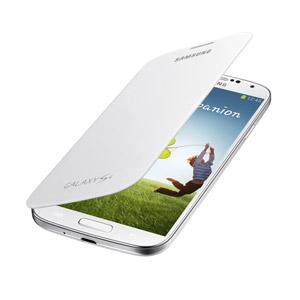 Funda Samsung Galaxy S4 con tapa Oficial - Blanco - EF-FI950BBEGWW
