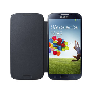Cover flip originale per Samsung Galaxy S4 - EF-FI950BBEGWW - Nero