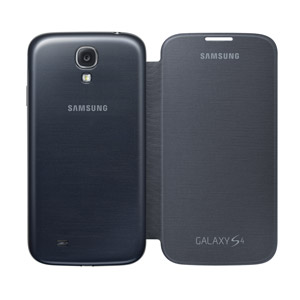 low priced 823cd a595c Genuine Samsung Galaxy S4 Flip Case Cover - Black