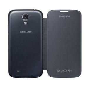 low priced 0881a 914cf Genuine Samsung Galaxy S4 Flip Case Cover - Black