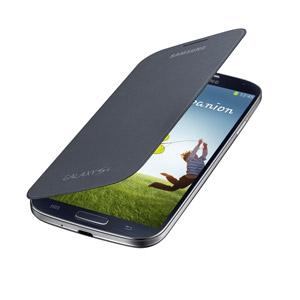Funda Samsung Galaxy S4 con tapa Oficial - Negra - EF-FI950BBEGWW