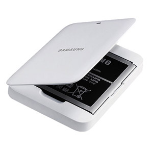 Genuine Samsung Galaxy S4 Extra Battery Kit - White