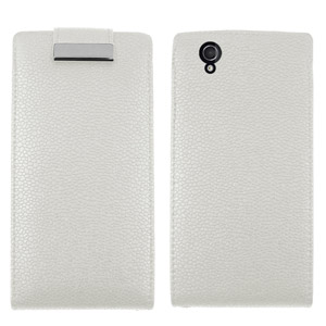 Sony Xperia Z Flip Case - White
