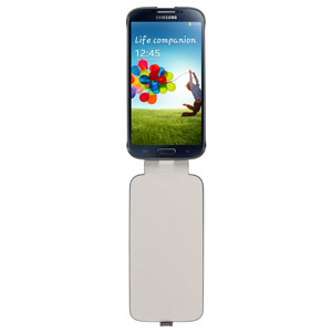 Official Samsung Galaxy S4 Flip Case - Black