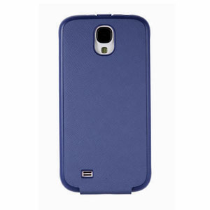 Official Samsung Galaxy S4 Flip Case - Blue