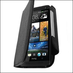 HTC One 2013 Wallet Case - Black