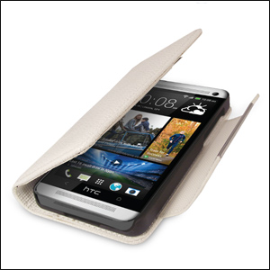 HTC One 2013 Wallet Case - White