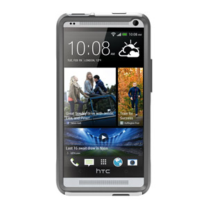 Otterbox Commuter Series for HTC One - White / Grey