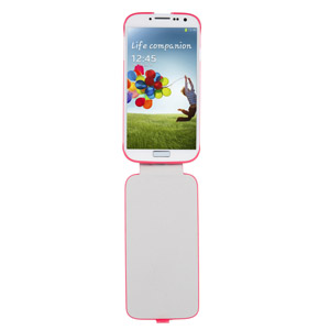 Official Samsung Galaxy S4 Flip Case - Pink
