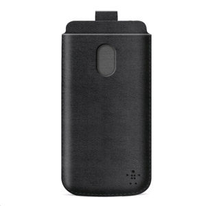 Belkin Leather Style Pouch for HTC One 2013 - Black