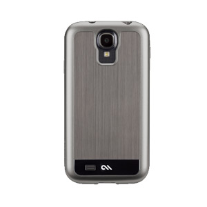 Case-Mate Barely There for Samsung Galaxy S4 i9500 - Brushed Aluminium