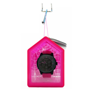 COOKOO Smartphone Analog Watch - Pink