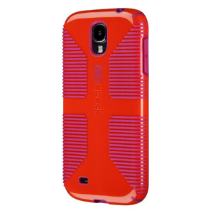 Speck CandyShell Grip for Samsung Galaxy S4 - Poppy Red