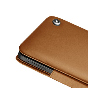 Noreve Tradition Leather Case for HTC One - Brown