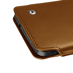 Noreve Tradition C Leather Case for HTC One 2013 - Brown