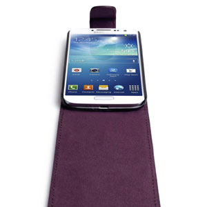 Samsung Galaxy S4 Flip Case - Purple