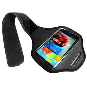 Samsung Galaxy S4 Sports Armband - Black