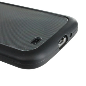 Muvit Bimat Back Case - Clear / Black