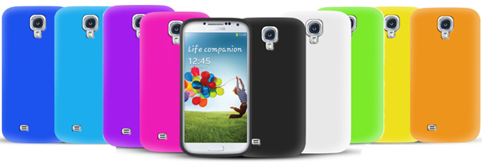 10-in-1 Silicone Case Pack for Samsung Galaxy S4