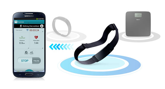 Samsung S Band Heart Rate Monitor