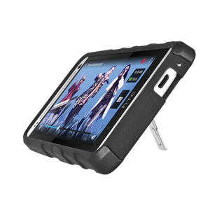 Seidio ACTIVE Case for HTC One with Kickstand - Black