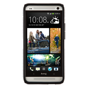 Speck CandyShell Grip for HTC One - White