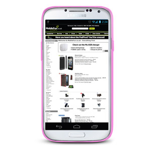 FlexiShield Case for Samsung Galaxy S4 - Pink