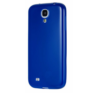 Official Samsung Galaxy S4 Jelly Case - Blue