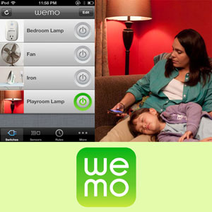 WeMo Belkin Home Automation Switch for Apple iPhone/iPad/iPod Touch