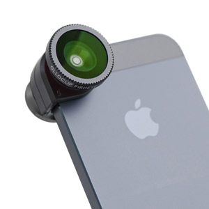 Olloclip iPhone 5 Fisheye, Wide-angle, Macro Lens Kit - Black