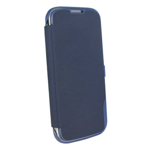Samsung Galaxy S4 Book Flip Cover - Blue