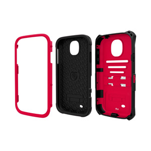 Trident Kraken AMS Case for Samsung Galaxy S4 - Red